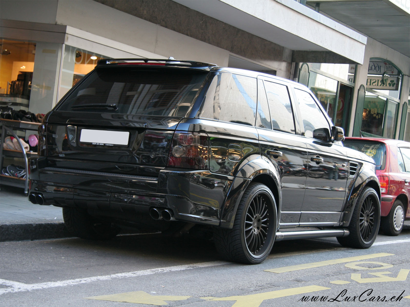 Www Luxcars Ch Land Rover Range Rover Sport Hamann Conqueror