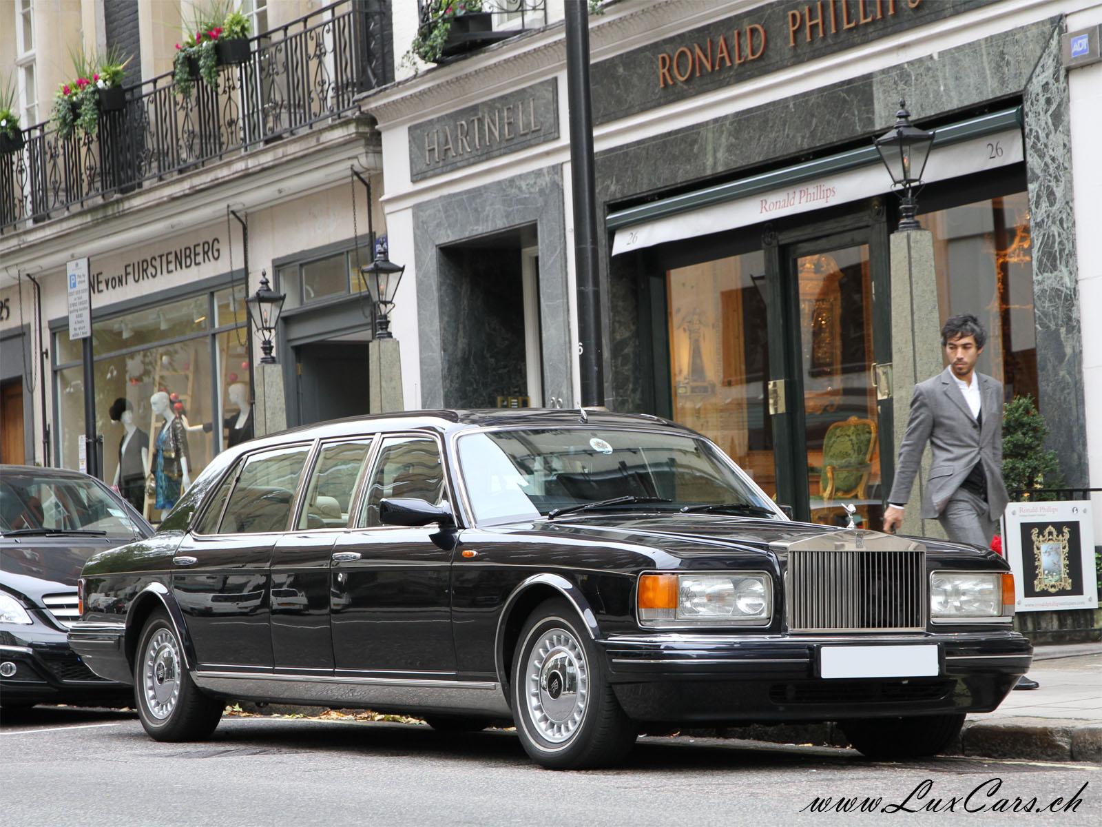 Www Luxcars Ch Rolls Royce Silver Spur Park Ward